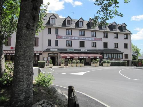 Logis Hotel Des Rochers : Hotel near Chanac