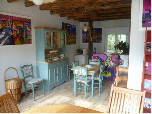 Chambres d'hôtes Legros : Bed and Breakfast near Vierzon