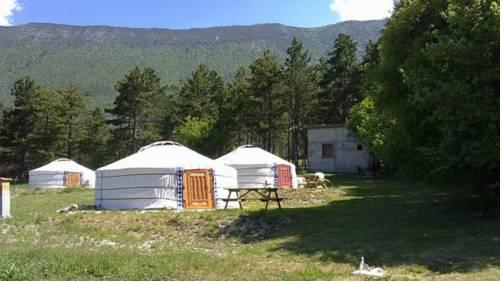 Les Steppes du Khaan : Guest accommodation near La Mure-Argens