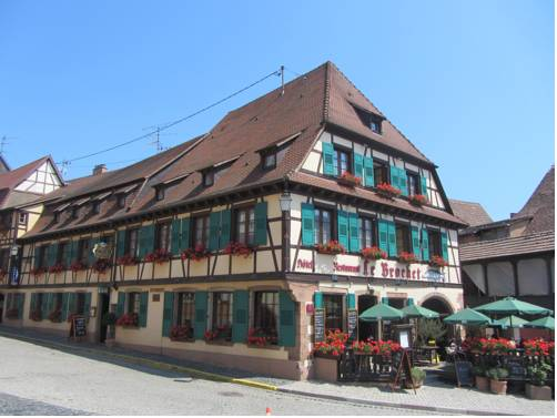 Hotel Restaurant Le Brochet : Hotel near Barr