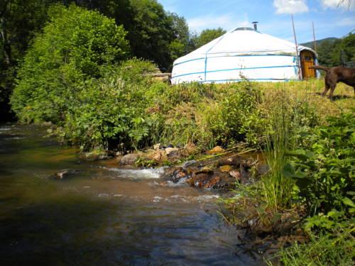 Le Moulin Gitenay - Yourte : Guest accommodation near La Chabanne