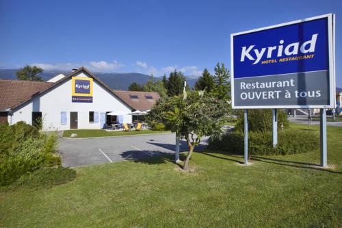 Kyriad Genève St-Genis-Pouilly : Hotel near Farges