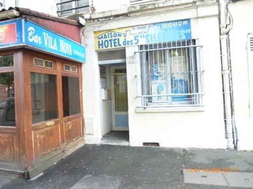 Maison Hôtel des 5 Silences : Hotel near Villeneuve-la-Garenne
