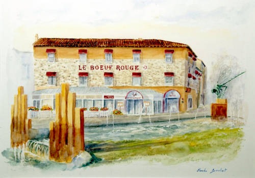 Inter-Hotel Saint-Junien Le Boeuf Rouge : Hotel near Saint-Junien