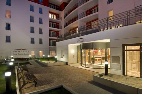 Domitys Les Deux Lacs : Guest accommodation near Brénaz