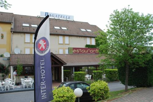 Inter-Hotel Paris Nord Roissy Bagatelle : Hotel near Louvres
