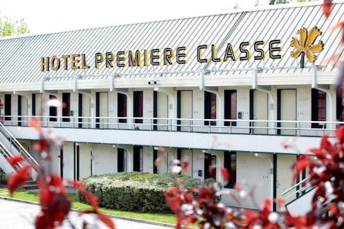 Premiere Classe Compiegne - Jaux : Hotel near Néry