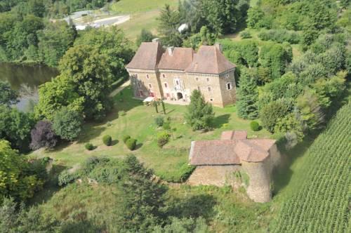 Château de Frugie : Bed and Breakfast near Saint-Priest-les-Fougères