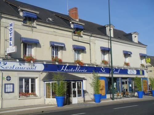 Logis Hostellerie Saint Paul : Hotel near Longué-Jumelles