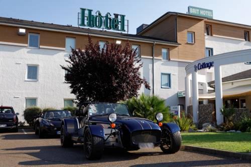 Brit Hotel Le Cottage Le Mans Sud : Hotel near Spay