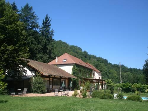 Chambres d'hôtes Moulin Saint-Jean : Guest accommodation near Bost