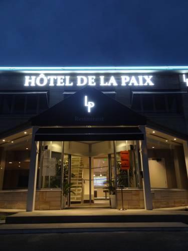 Hôtel de la Paix : Hotel near Beugny