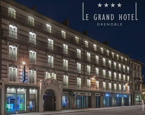 Le Grand Hôtel Grenoble : Hotel near Grenoble