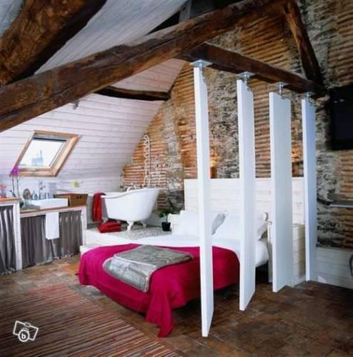 Gîtes urbains de charme à Nantes Une Nuit en Ville : Apartment near Nantes