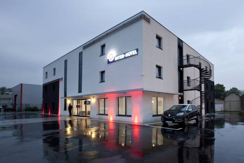 Inter-Hotel Marne-la-Vallée Est Meaux : Hotel near Fublaines
