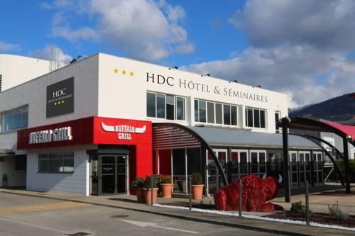 HDC- Hôtel de Crolles : Hotel near Sainte-Agnès