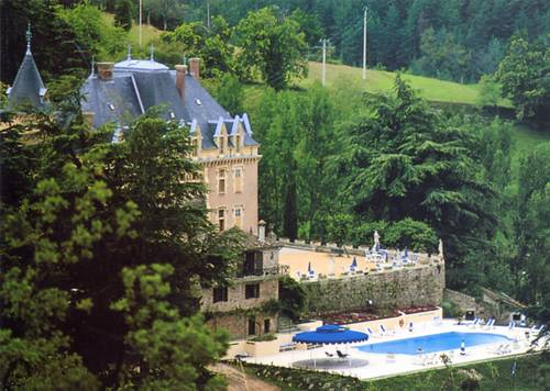 Chateau d'Urbilhac : Bed and Breakfast near Lamastre