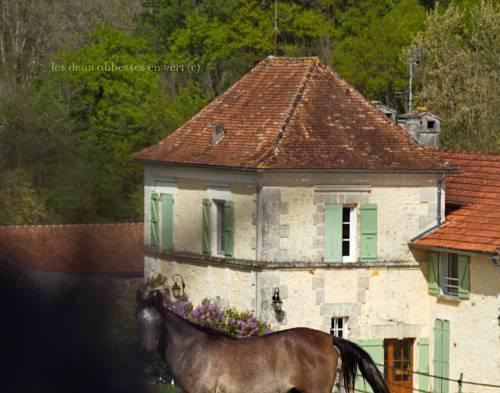 Les Deux Abbesses en Vert | La Grande Maison B&B : Bed and Breakfast near Gout-Rossignol