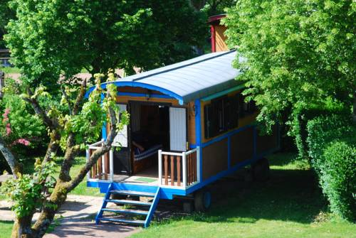 Les Roulottes Du Bazois : Guest accommodation near Alluy