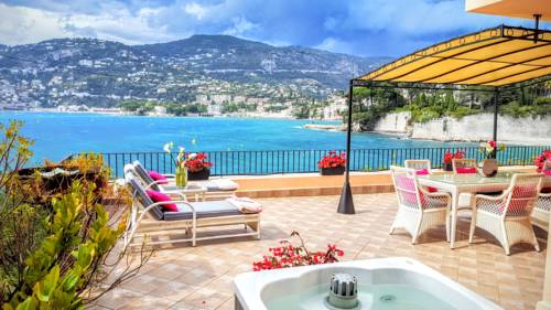 Cap Ferrat Luxury Terrace Sea Front : Apartment near Saint-Jean-Cap-Ferrat