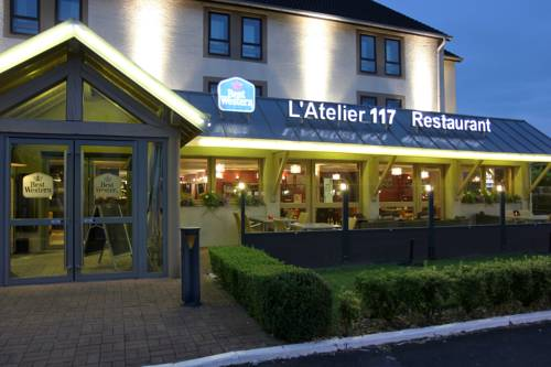 Best Western l'Atelier 117 : Hotel near Audignies
