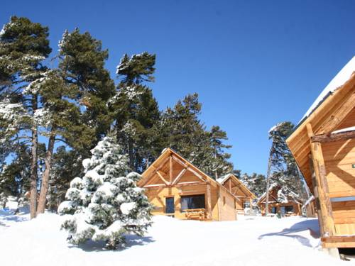 Huttopia Font Romeu : Guest accommodation near La Cabanasse