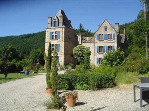 Appartement - Chateau en Ardeche Charmante : Apartment near Saint-Julien-Labrousse