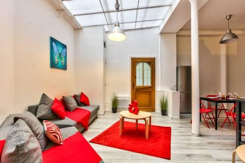 08 Design Flat Republique : Apartment near Paris 10e Arrondissement