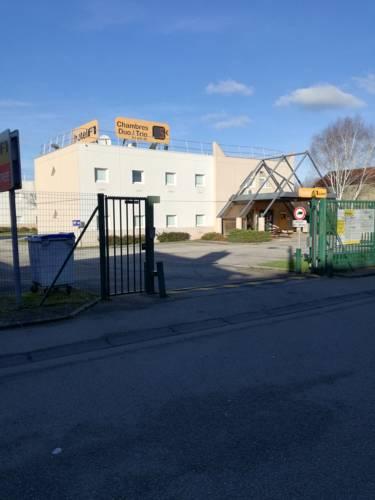 hotelF1 Cherbourg : Hotel near La Glacerie
