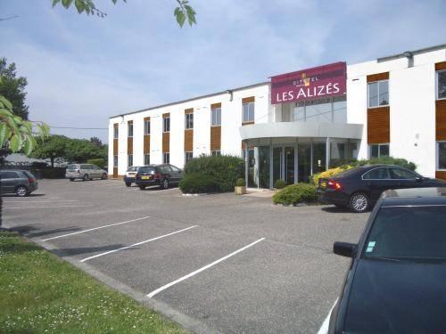 Citotel Hotel Les Alizes : Hotel near Mérignac