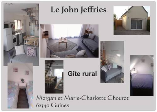 Gite Le John Jeffries : Guest accommodation near Guînes