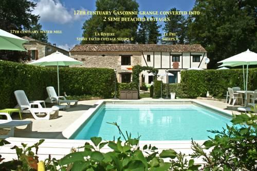 La Riviere : Guest accommodation near Auriac-sur-Dropt