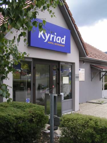 Kyriad Bellegarde - Genève : Hotel near Champfromier