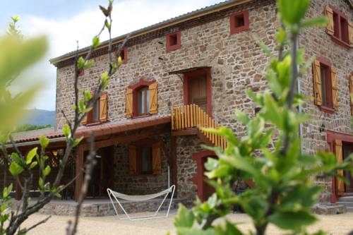 Les Gites Le Viallon : Guest accommodation near Roiffieux