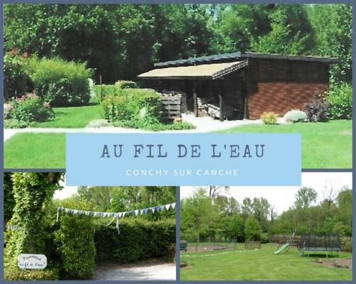 Au fil de l'eau : Guest accommodation near Haravesnes