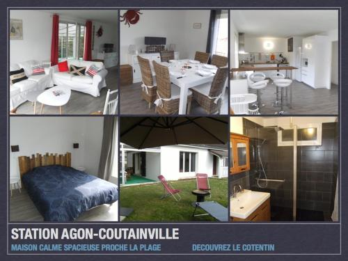 Agon Coutainville : Guest accommodation near La Vendelée
