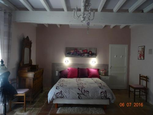 Chambre À Montain : Bed and Breakfast near Bellesserre