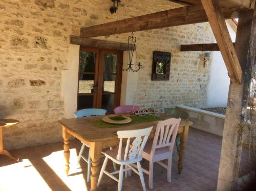 Les daurins : Guest accommodation near Lussac