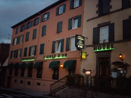 L'Aigle d'Or : Hotel near Limons