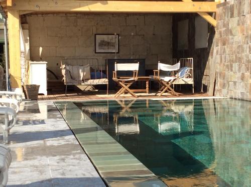 Appartements & Spa de la Marine Loire : Guest accommodation near Montsoreau