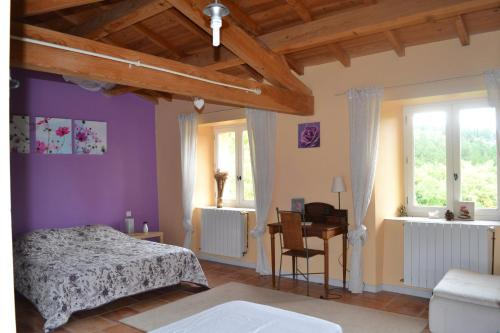 Le Jardin des Possibles : Guest accommodation near Belcastel-et-Buc