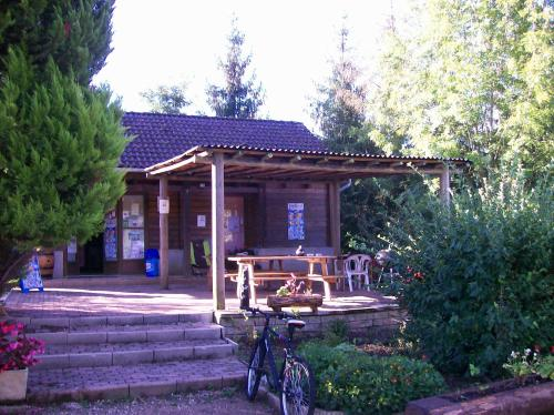 Camping Le Canoë : Guest accommodation near Saint-Aubin