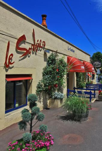 Le Sorbier : Hotel near Coursac