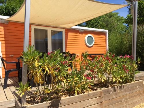 Camping du domaine du MARIN'PALM : Guest accommodation near Mireval