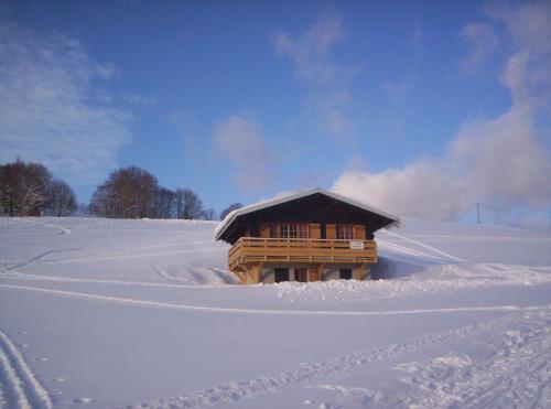 Chalet Bois Jura Lajoux : Guest accommodation near Choux