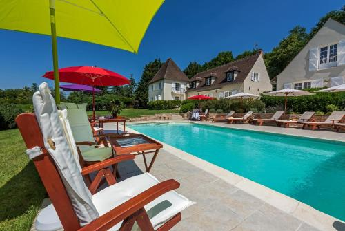 Domaine du Bois des Anges : Bed and Breakfast near Sainte-Aulde