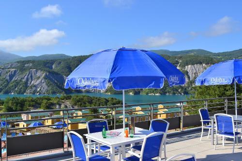 Domaine Résidentiel de Plein Air Odalys Les Berges du Lac : Guest accommodation near Rochebrune