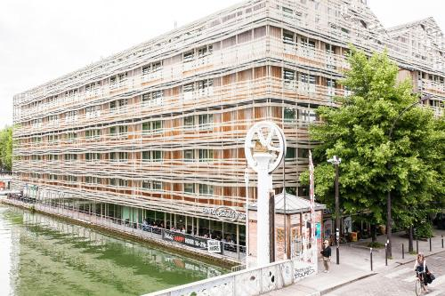 St Christopher's Inn Paris - Canal : Hostel near Paris 19e Arrondissement