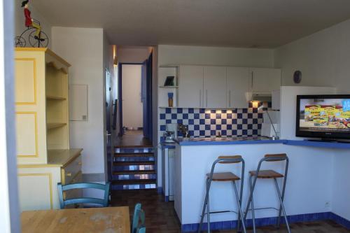 Gite bleu a la mer : Apartment near Sigean