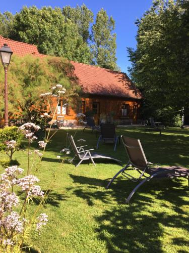 La Nicoulette : Bed and Breakfast near Mesnil-Domqueur